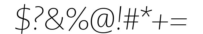 PMNCaeciliaSans Head XLt Obl Font OTHER CHARS