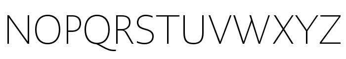 PMNCaeciliaSans Head XLt Font UPPERCASE