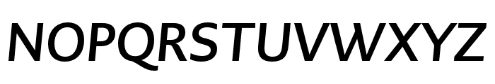 PMNCaeciliaSans Text Bd Italic Font UPPERCASE