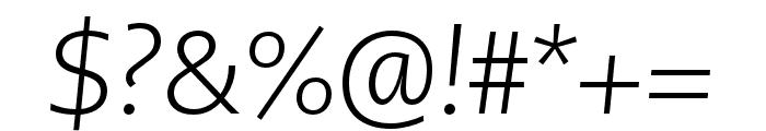 PMNCaeciliaSans Text Lt Italic Font OTHER CHARS