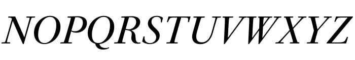 PSFournier Std Grand Italic Font UPPERCASE