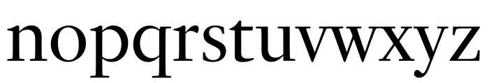 PSFournier Std Grand Regular Font LOWERCASE