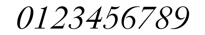 PSFournier Std Light Italic Font OTHER CHARS