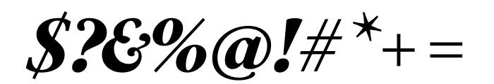 PSFournier Std Petit Heavy Italic Font OTHER CHARS