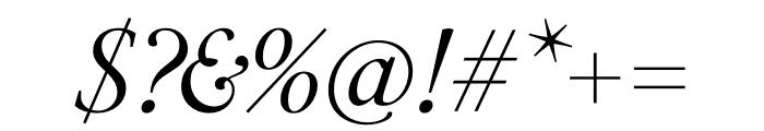 PSFournier Std Petit Light Italic Font OTHER CHARS