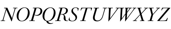 PSFournier Std Petit Light Italic Font UPPERCASE