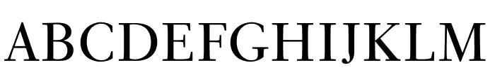 PSFournier Std Petit Regular Font UPPERCASE