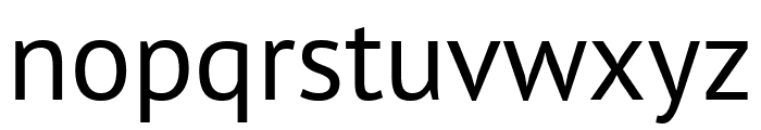 PT Sans Narrow Regular Font LOWERCASE