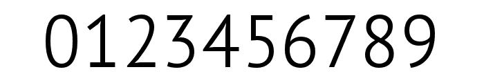 PT Sans Pro Condensed Light Font OTHER CHARS