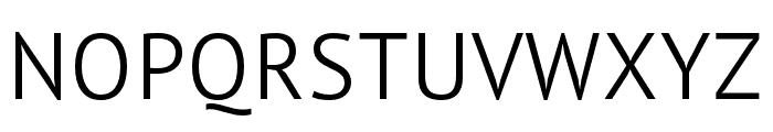 PT Sans Pro Condensed Light Font UPPERCASE