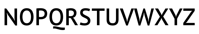 PT Sans Pro Extra Condensed Demi Font UPPERCASE