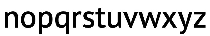 PT Sans Pro Extra Condensed Demi Font LOWERCASE