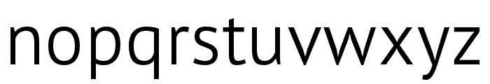 PT Sans Pro Extra Condensed Light Font LOWERCASE