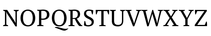 PT Serif Caption Regular Font UPPERCASE