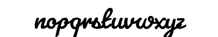 Pacifico Bold Font LOWERCASE