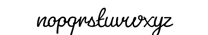 Pacifico Light Font LOWERCASE