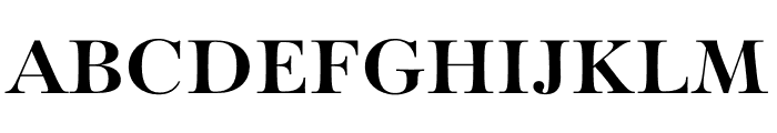 Paganini Bold Font UPPERCASE