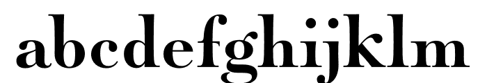 Paganini Bold Font LOWERCASE