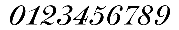Paganini Italic Font OTHER CHARS