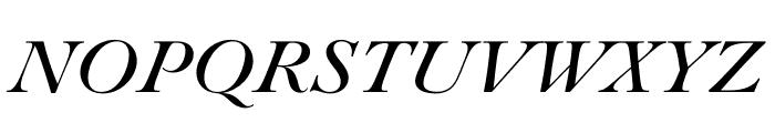 Paganini Italic Font UPPERCASE