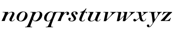 Paganini Italic Font LOWERCASE
