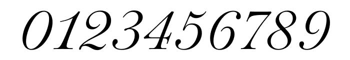 Paganini Light Italic Font OTHER CHARS