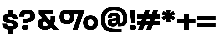 Paralucent Condensed Bold Font OTHER CHARS