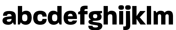 Paralucent Condensed Bold Font LOWERCASE