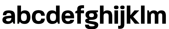 Paralucent Condensed Demi Bold Font LOWERCASE