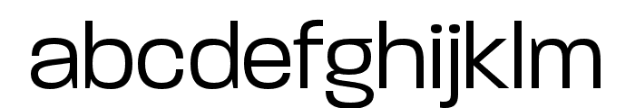 Paralucent Condensed Light Font LOWERCASE