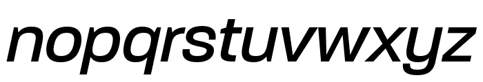 Paralucent Text Book Italic Font LOWERCASE