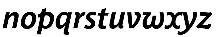 Parisine Plus Std Sombre Bold Italic Font LOWERCASE