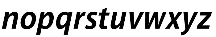 Parisine Std Sombre Bold Italic Font LOWERCASE