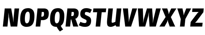 Parka Black Italic Font UPPERCASE