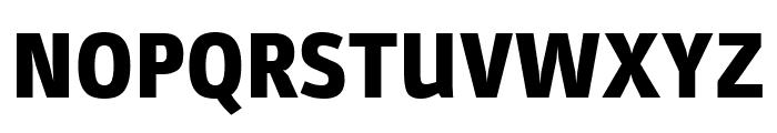 Parka Black Font UPPERCASE