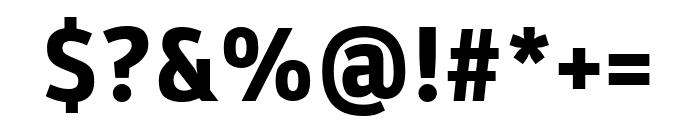 Parka ExtraBold Font OTHER CHARS