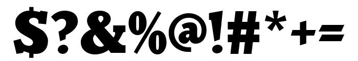 Parkinson Black Font OTHER CHARS