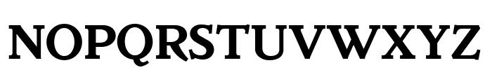 Parkinson Bold Font UPPERCASE