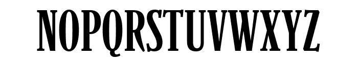 Parkinson CondensedLight Font UPPERCASE
