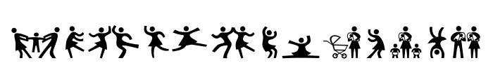 Pedestria MVB Pict Two Font LOWERCASE