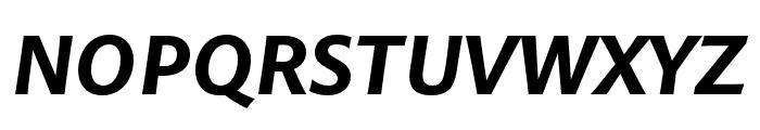 Pelago Bold Italic Font UPPERCASE