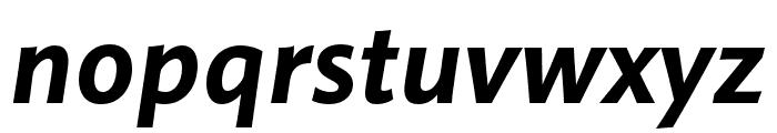 Pelago Bold Italic Font LOWERCASE