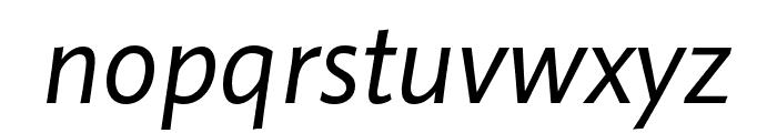 Pelago Italic Font LOWERCASE