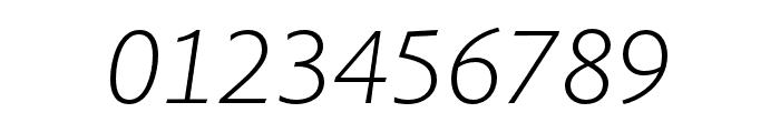 Pelago Light Italic Font OTHER CHARS