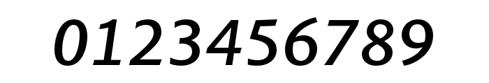 Pelago Medium Italic Font OTHER CHARS