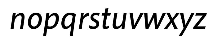 Pelago Medium Italic Font LOWERCASE