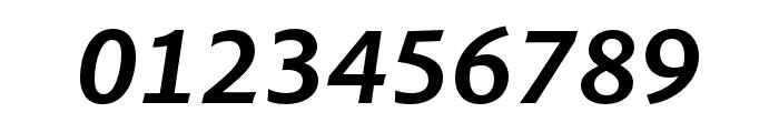 Pelago Semibold Italic Font OTHER CHARS