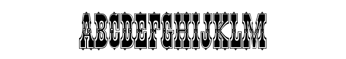 Pepperwood Std Outline Font LOWERCASE