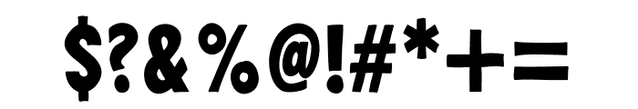 PestoFresco Regular Font OTHER CHARS