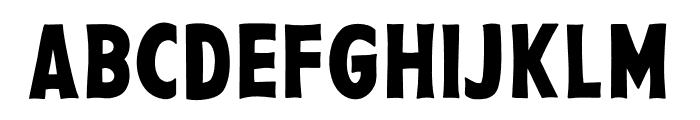PestoFresco Regular Font UPPERCASE